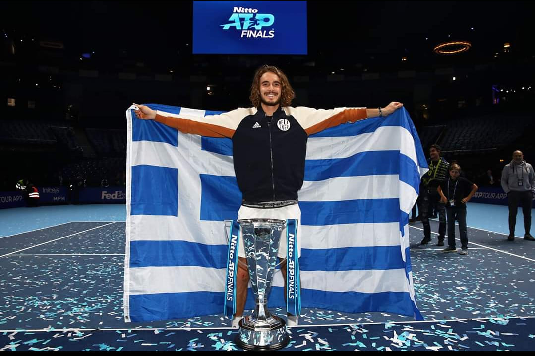 A Greek Again! The 'Awesome' Tsitsipas Does Wonders for Greek Tourism