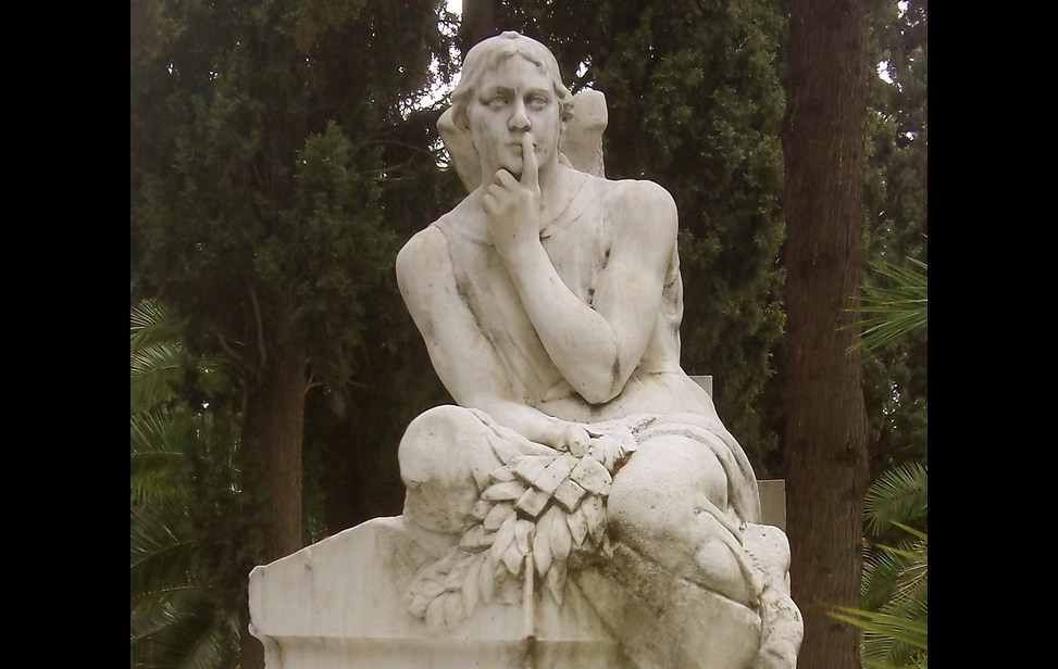 Exquisite world of sculpture art at the 1st Cemetery fo Athens.