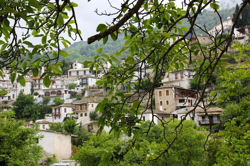 Kastanitsa: A Traditional Greek Mountain Village Getaway