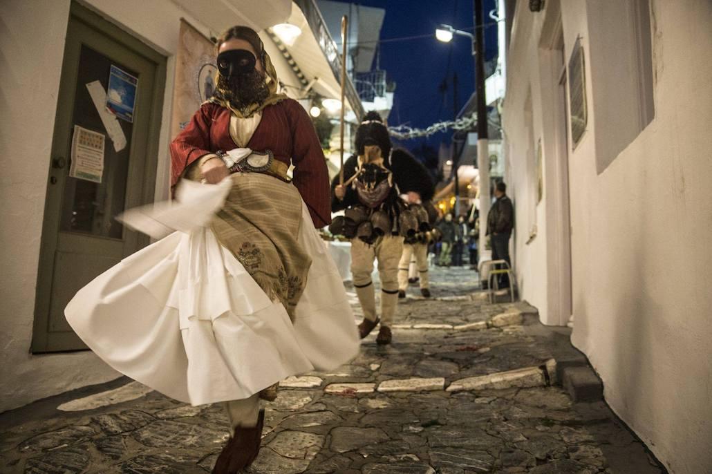 Skyros Greece carnival