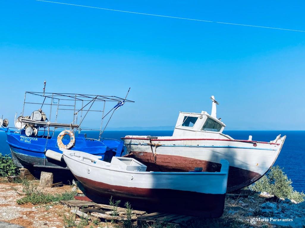 Greek kaki boats
