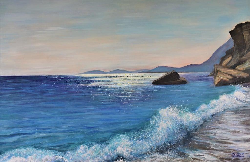 A Brush Stroke of Greek Ambiance & Blue